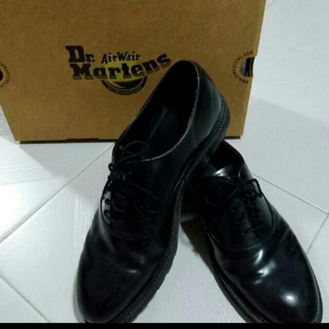 Dr. Martens Black Leather Shoe