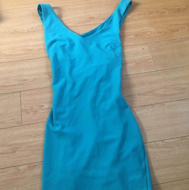DYNAMITE BNWT Teal Dress
