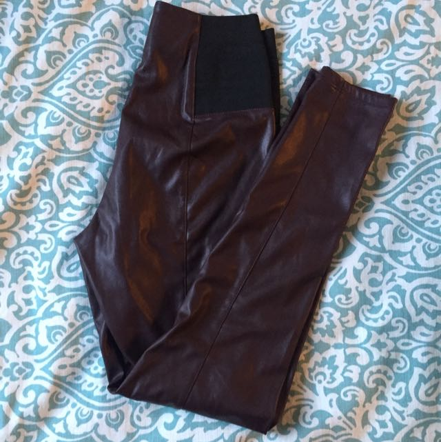 Dynamite Faux-Leather Leggings