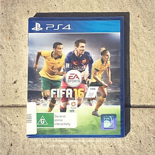 Brand New Sealed FIFA 16 PlayStation 4 Game