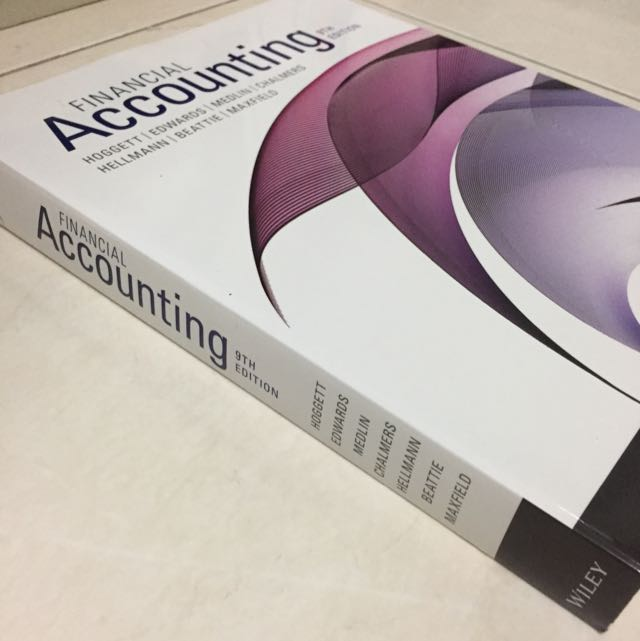 Financial accounting 9th edition books stationery textbooks on financial accounting 9th edition books stationery textbooks on carousell fandeluxe Images