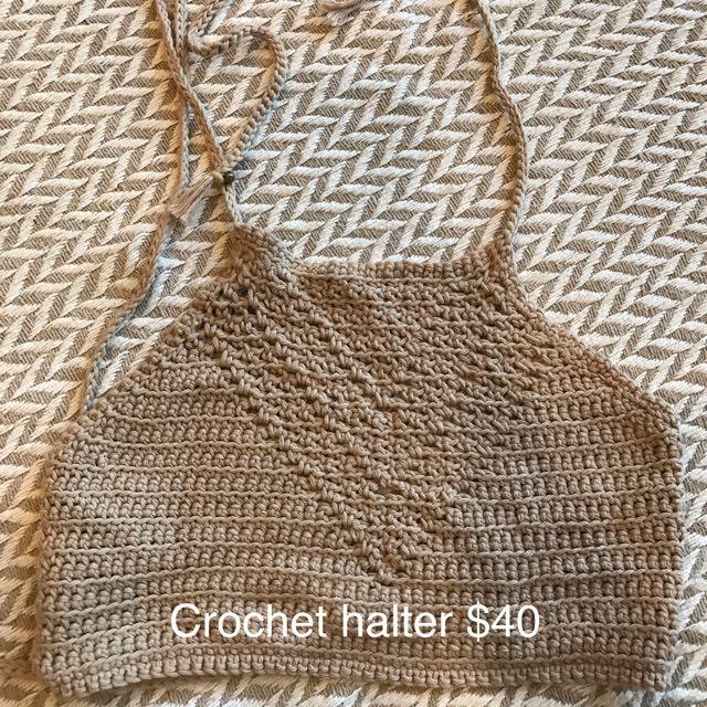 Handmade Crochet Halter
