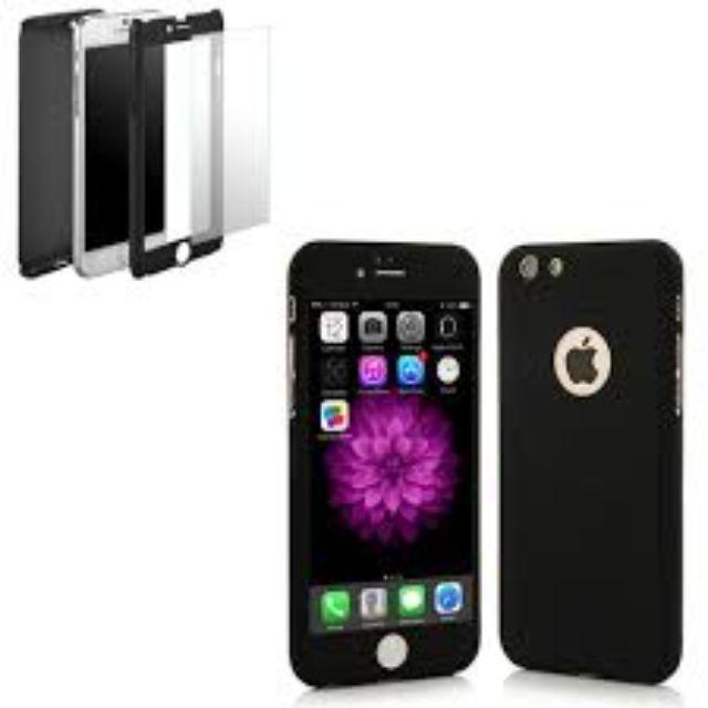 Case IPhone 6 6s 6 Plus 7 7s 7+ case 360 Plastik Rubber