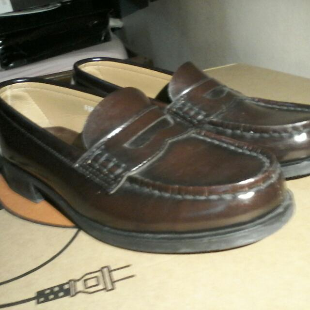 HARUTA leather shoes from Japan
