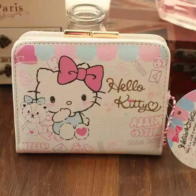 416fde7dc hello kitty cosmetics pouch pencil case wallet purse cardholder card ...
