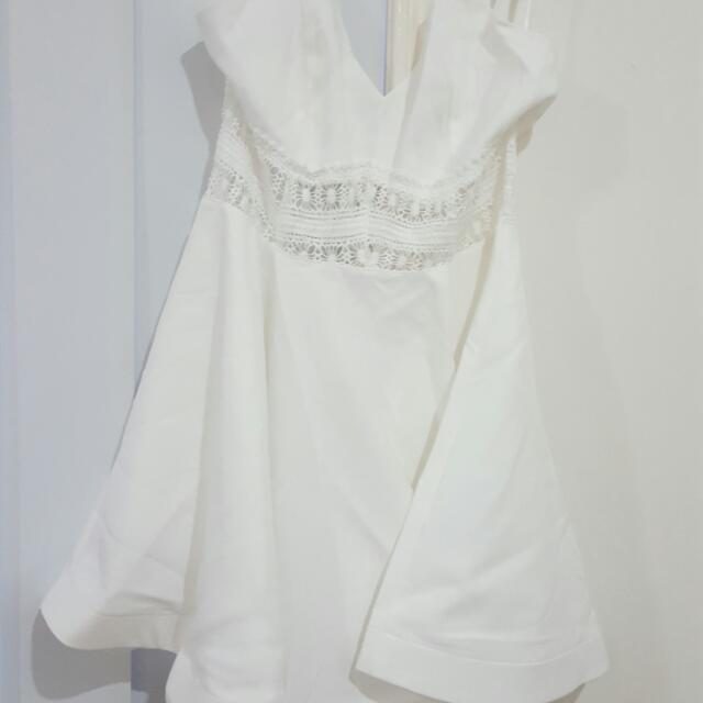 Hello Molly White Dress