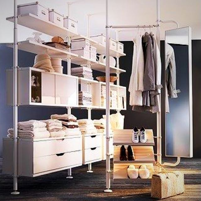 Ikea Stolmen Open Concept Waredrobe/Closet/Parts, Furniture, Shelves U0026  Drawers On Carousell