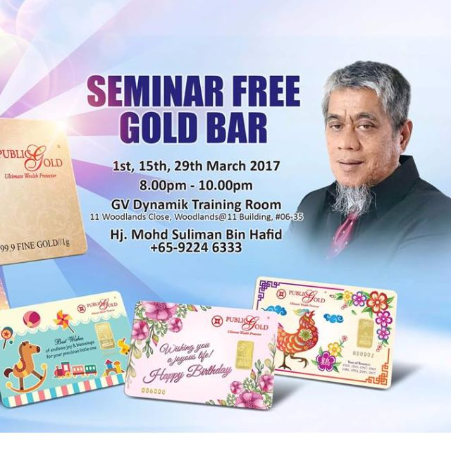 Join Us at Seminar FREE God Bar