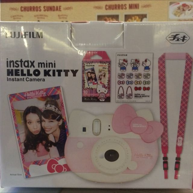 KAMERA INSTAX HELLO KITTY