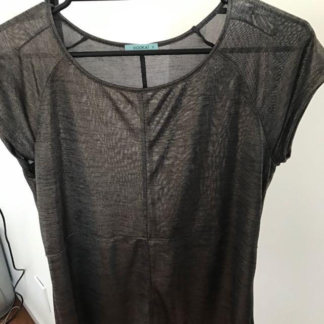 Kookai Metallic T-shirt