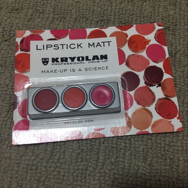 KRYOLAN lipstick matt tester