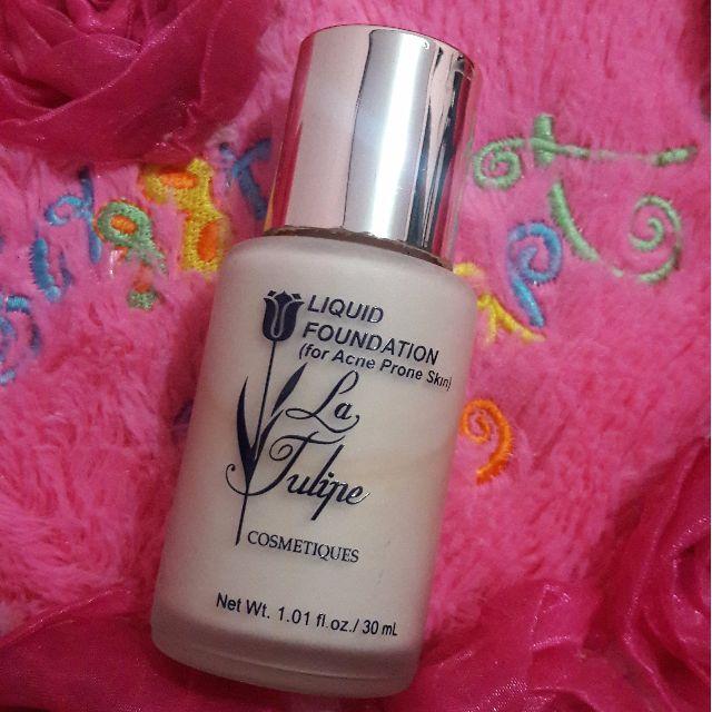 La Tulipe Liquid Foundation (for Acne Prone Skin) shade Natural