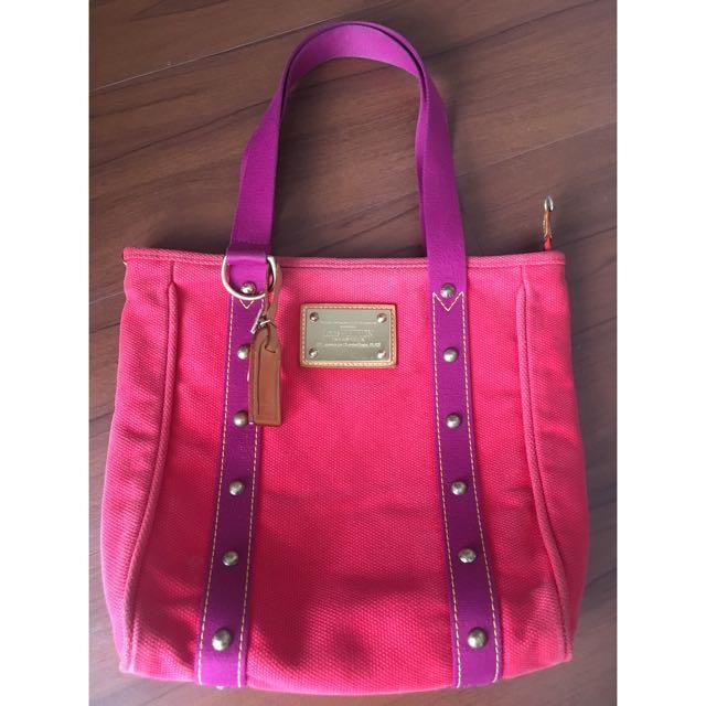 Louis Vuitton Trunk Canvas Bag