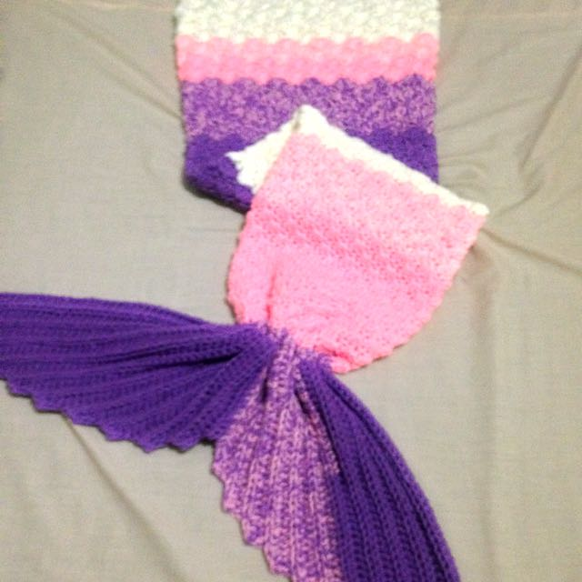 Mermaid Tail Blanket(made To Order)