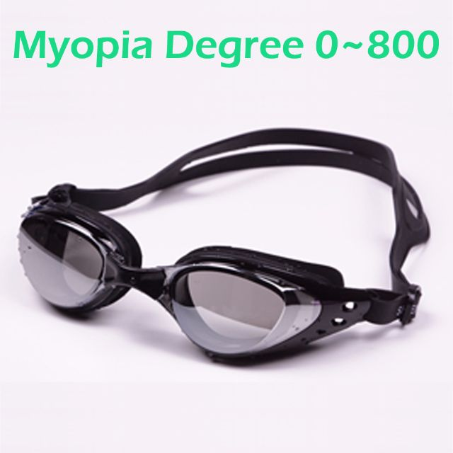 290b63a16b8fe5 Myopia Swim Goggle 0 to 800 Degree / Shortsighted Swimming Lenses ...