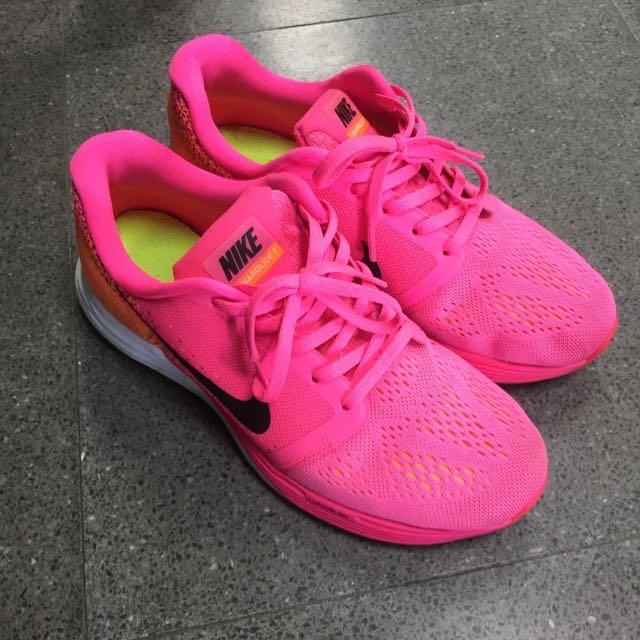 Nike Lunarglide 7粉色慢跑鞋