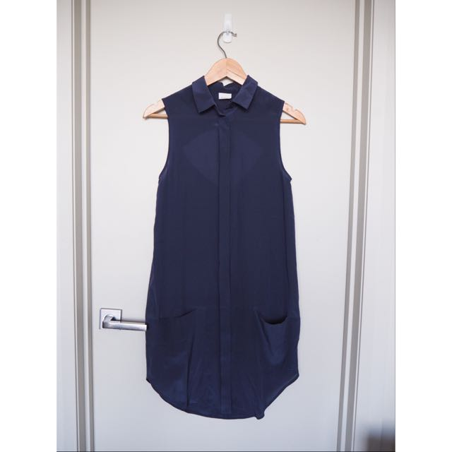 Nique Navy Shift Dress