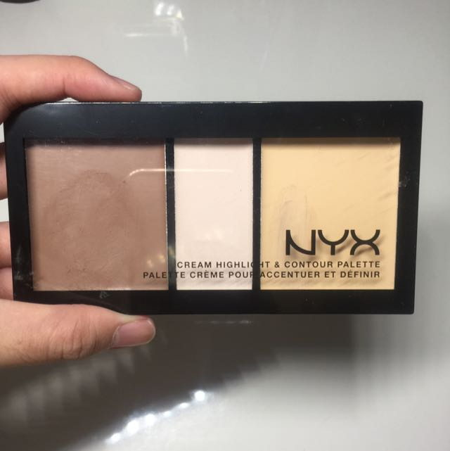 NYX Cream Highlight & Contour Palette