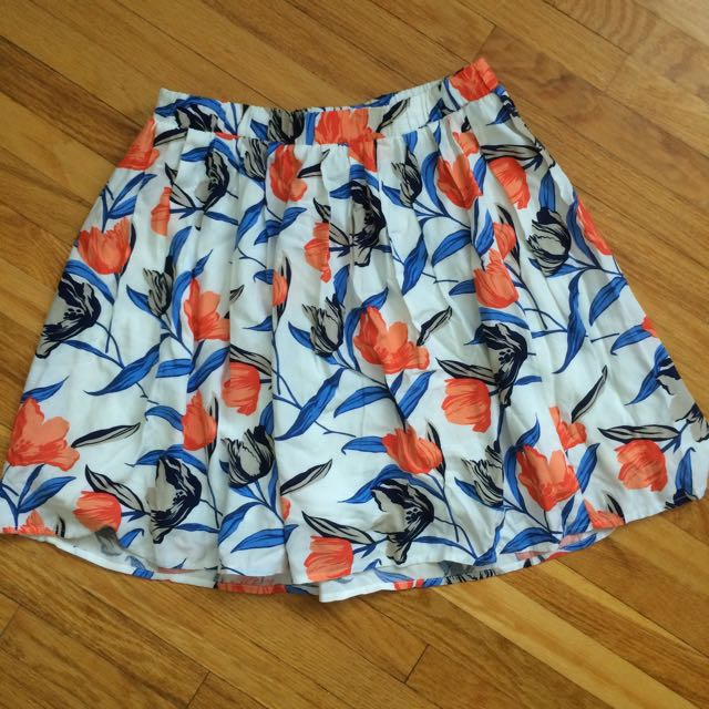 Old Navy Extra Small Floral Skirt