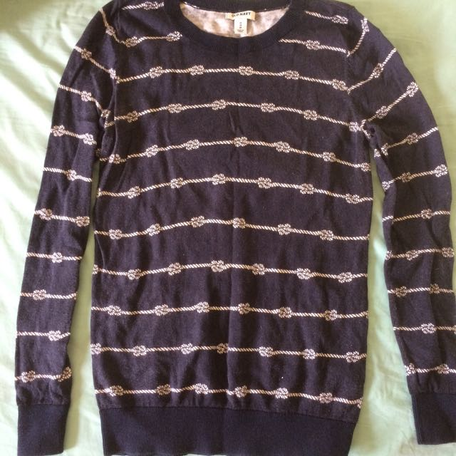Old Navy Knot Sweater