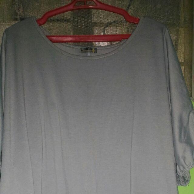Preloved Unica Hija Fashion Color Gray