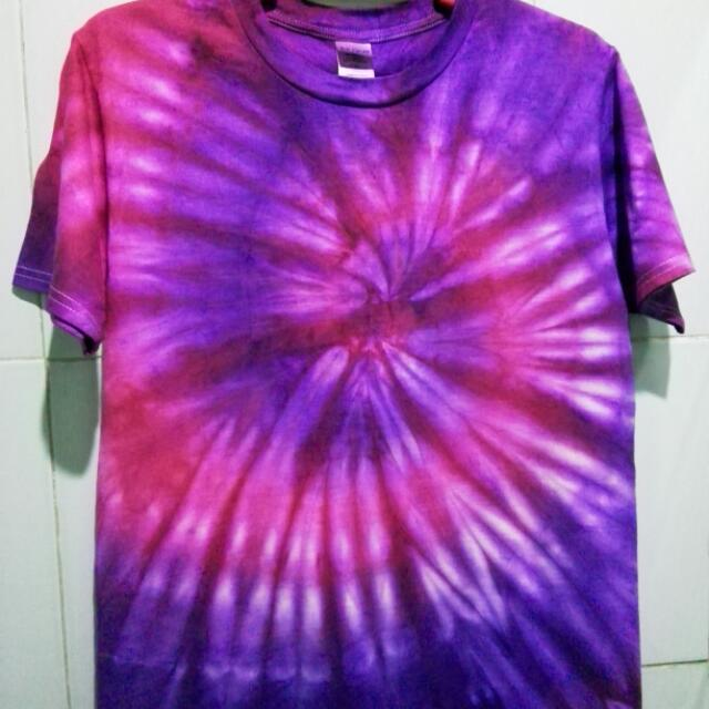 PURPLE HAZE TIE DYE SHIRT