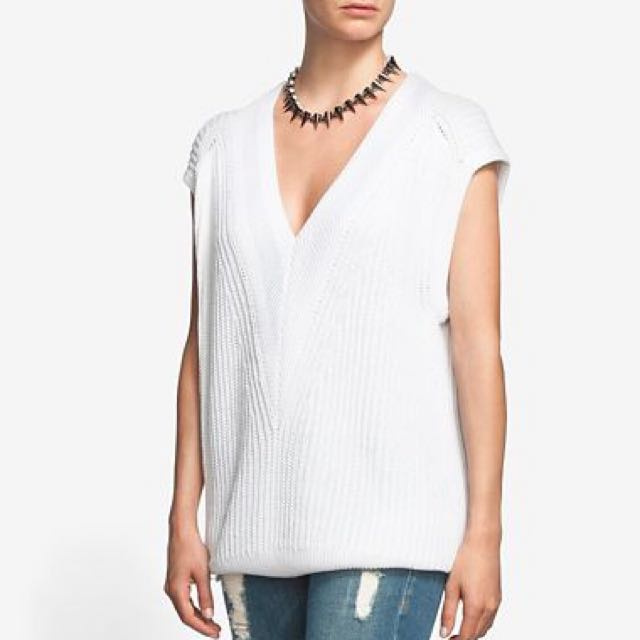 PRICE DROP: Rag & Bone Sleeveless Knit Pullover