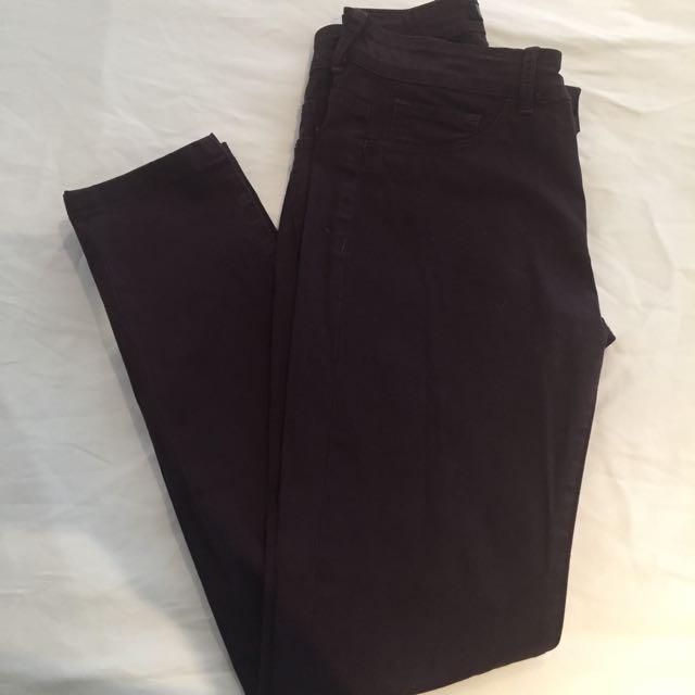 Saba Burgundy Jeans