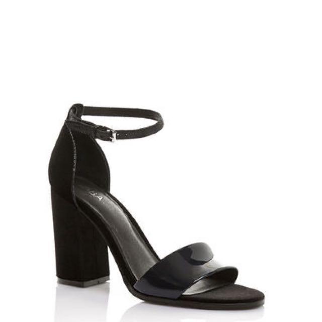 SABA Ink velvet heels