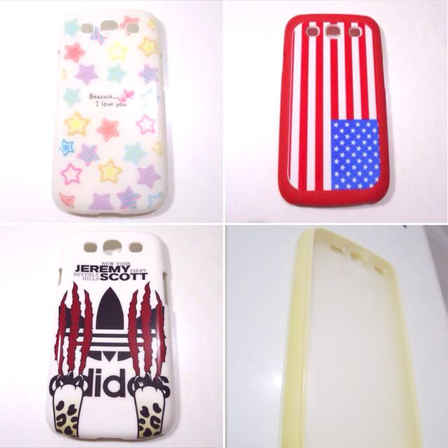 Samsung S3 Assorted Back Cases