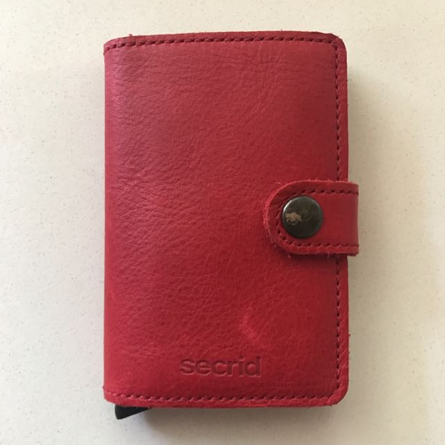 Secrid leather card wallet
