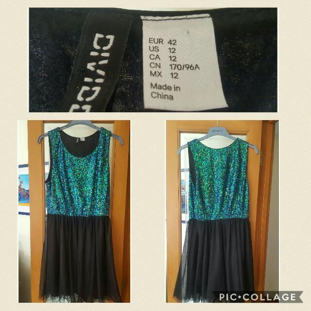 Sequin And Tulle Dress