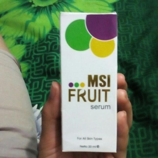 Serun Fruit Msi