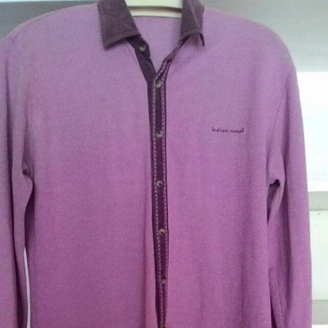 Big Size Shirt Indiana Pink