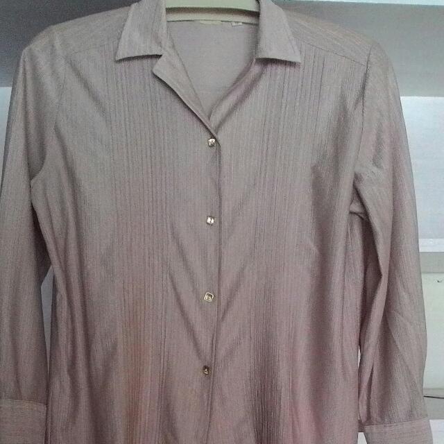 Shirt Krem Gilap