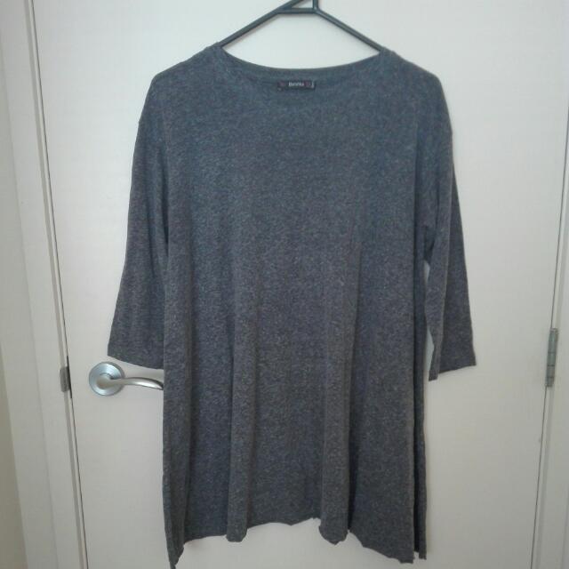 Short Grey Dress #under20