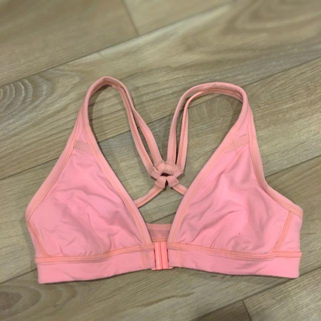 Size 2 Pink Lulu Lemon Sports Bra