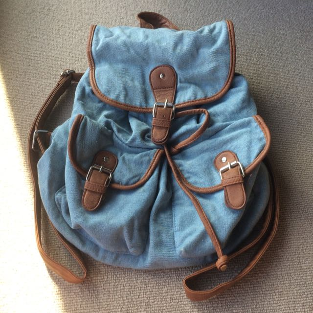 Sportgirl Blue Backpack