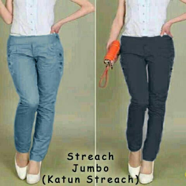 Streach Jumbo (Celana Panjang)