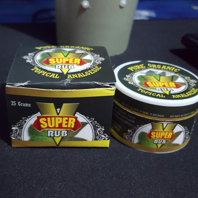 SUPER V RUB, EUCALYPTUS + MENTHOL