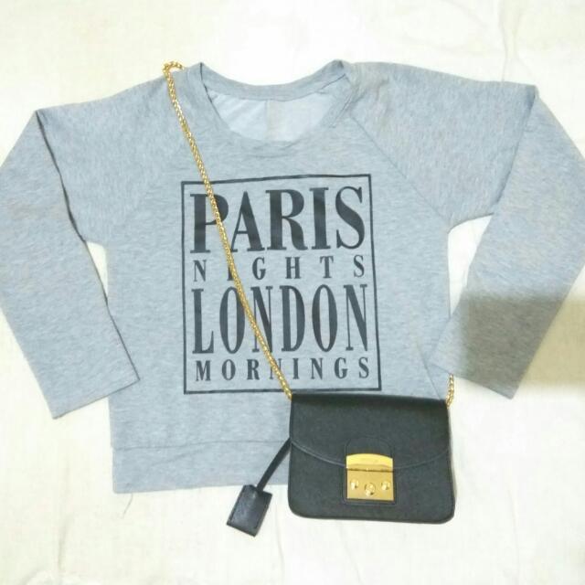 Sweater Paris / London Abu Abu