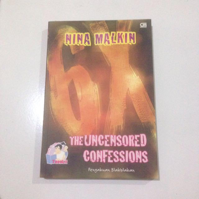 The Uncensored Confession (Pengakuan Blakblakan)