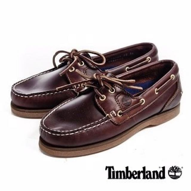 Timberland 女款帆船鞋 37號