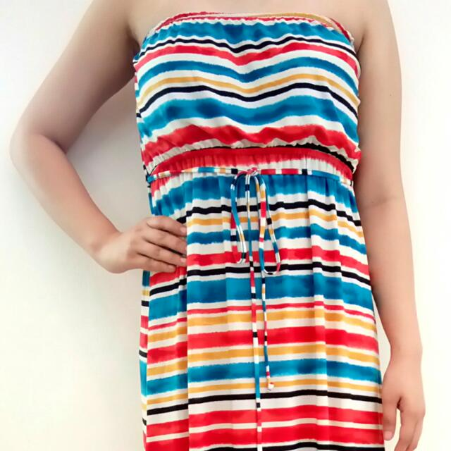 Tube Maxi Summer Dress