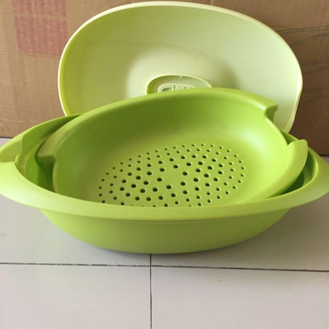 tupperware cantik hijau