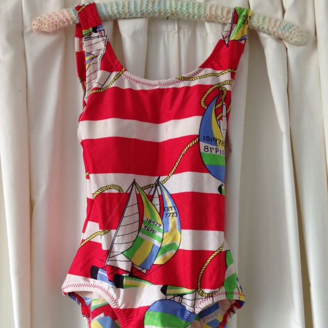 Vintage Nautical Design One-piece Swimsuit