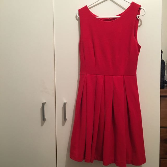 Vintage Style Skater Dress, Size Small