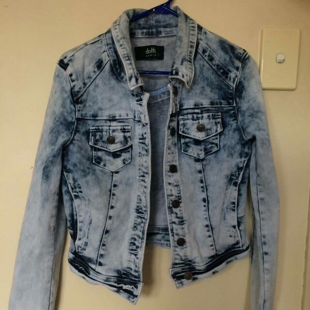 Washed Denim Jacket