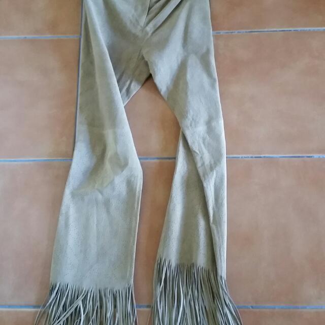 Wilson leather Hippie pants