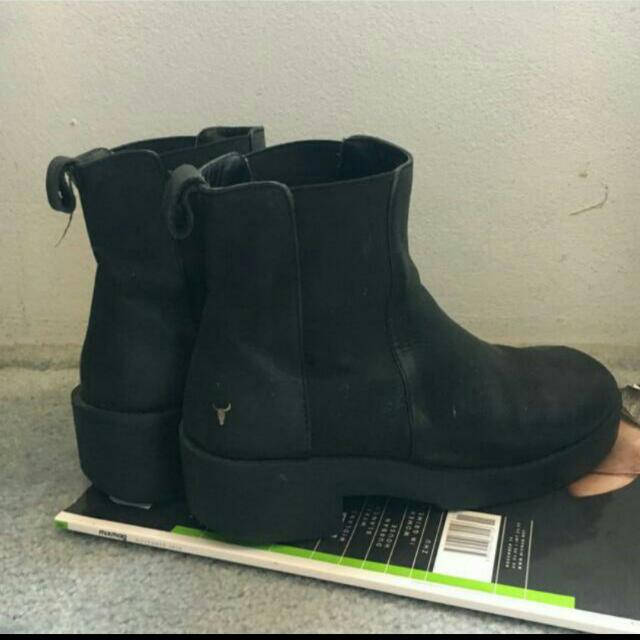 Winsdor Smith Leather Boots